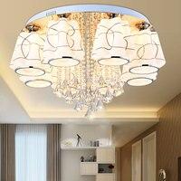 Pendant Lights living room lamp warm and romantic wedding room crystal lamp simple modern bedroom lamp creative lamp LU818377