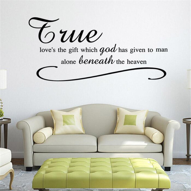 IDFIAF Household Adornment Wall Stickers Vinyl Stickers Bedroom - How do you put a wall sticker on