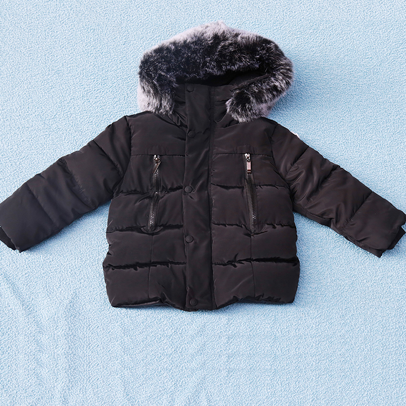 Boys Winter Coat Baby Girls Jacket Kids Warm Outerwear Children Coat 2018 Fashion Spring Children Clothing Girls Hooded jacket