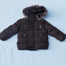 Зимнее пальто для мальчиков, куртка для маленьких девочек, детская теплая верхняя одежда, детское пальто 2018, модная весенняя детская одежда, куртка с капюшоном для девочек