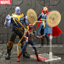 Hasbro Marvel Infinite War singular Dr. Spider-Man smashing the hand to do the model ornaments toy doll garbage kit the dr congo war