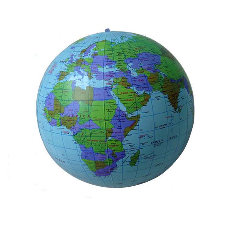 Globe Beach Ball PromotionShop for Promotional Globe Beach Ball – Globe Maps of the Earth