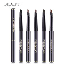 BIOAUNT Glamorous Eyebrow Pencil Charming Eye Brow Tint Cosmetics Professional Eyes Makeup Tools with Waterproof & Long Lasting