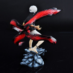 Image 4 - Anime Tokyo Ghoul Kaneki Ken Action PVC Figure da collezione Model doll toy 22cm