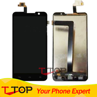 Black Tested Panel Replacement Parts For Highscreen Alpha R LCD Screen Display And Touch Panel Digitizer