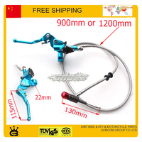 125cc 140cc 150cc Dirt Pit Monkey Bike Hydraulic Clutch Level Master Cylinder 1200mm Long Free Shipping