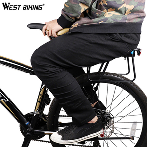 Image 3 - מערב רכיבה על אופניים MTB אופניים לשמירת Carrier אלומיניום אופניים מדפי מטען עבור 20 29 אינץ אופניים מדף Seatpost תיק מחזיק rack Stand