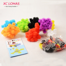400 pcs Assemble 3D Puzzle DIY Puff Ball