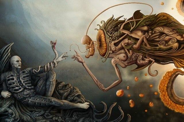 Diy Ramka Prometeusz Alien Alien Przymierze Sci Fi Następna Przygoda