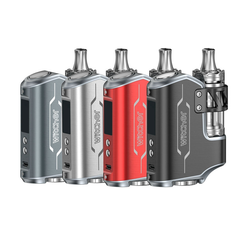 Electronic Cigarette BOX MOD ROFVAPE Witcher 75w TC Kit 5.5ML Atomizer Vaporizer Vape pens vs istick pico ijust S Alien 85