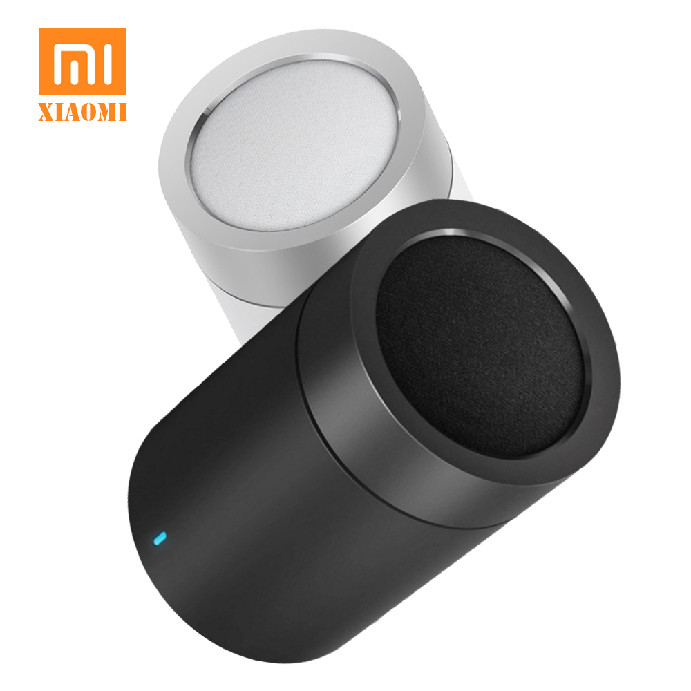 New Xiaomi Mi Cannon Speaker 2 Mini Smart Bluetooth 4.1 Portable Wireless Subwoofer Loudspeaker for Xiaomi Redmi Mobile phone original xiaomi mi speaker mini 2 4g wifi voice smart speaker wireless portable speaker bluetooth 4 1 with 4 mic of smart home