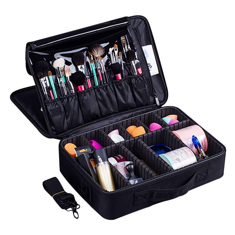 Neue Mode Kosmetiktasche Reise Verfassungsorganisator Kosmetik Tasche Tasche Hoher Qualität Bilden Tasche Professionelle Kosmetische Make-Up Fall