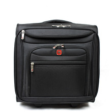 2016 HOT sale 16 inch Business Oxford cloth computer Trolley Luggage brand Suitcase Board Travel Bag For Men and Women Specials