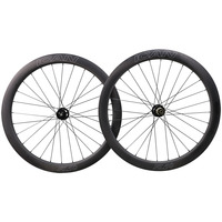 700C 50mm deepth clincher carbon 25mm width disc road and cyclocross wheels with Novat ec hub and Sapi m spoeks ICAN blue spot