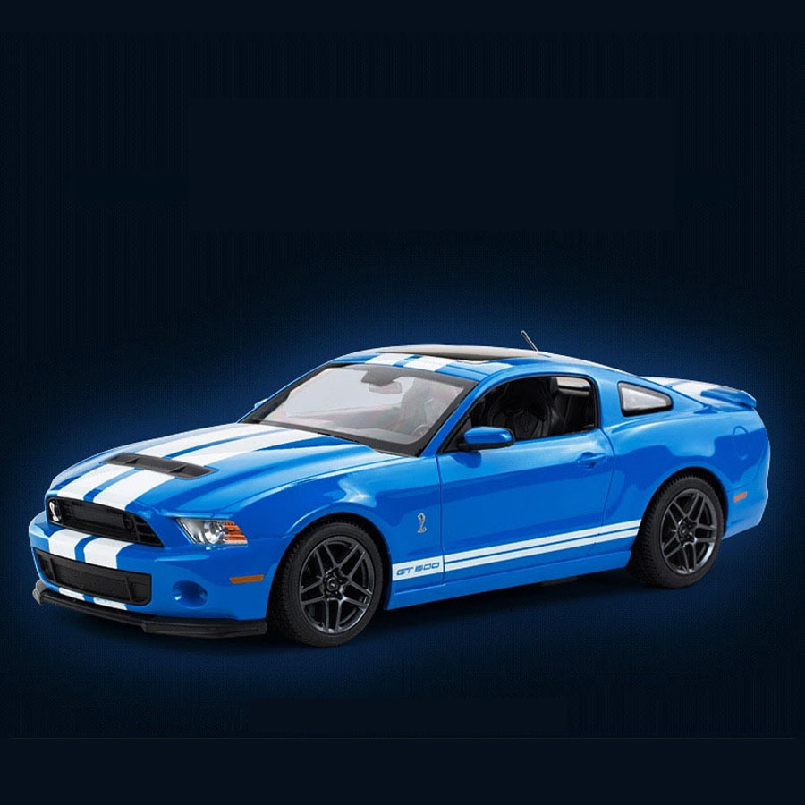 Hot sale rastar 49400 1 14 mustang gt500 rc car classic roadstar need for speed model drift toy for car fans electric race in diecasts toy vehicles from