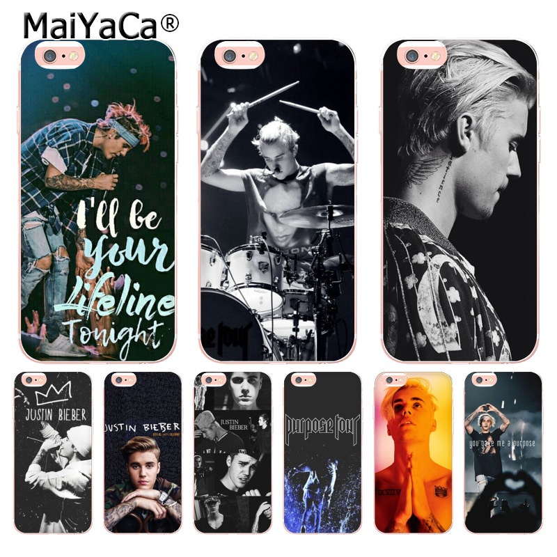 Cellphones & Telecommunications Phone Bags & Cases Hameinuo Justin Bieber Purpose Tour Cell Phone Cover Case For Iphone 4 4s 5 5s Se 5c 6 6s 7 8 X Plus