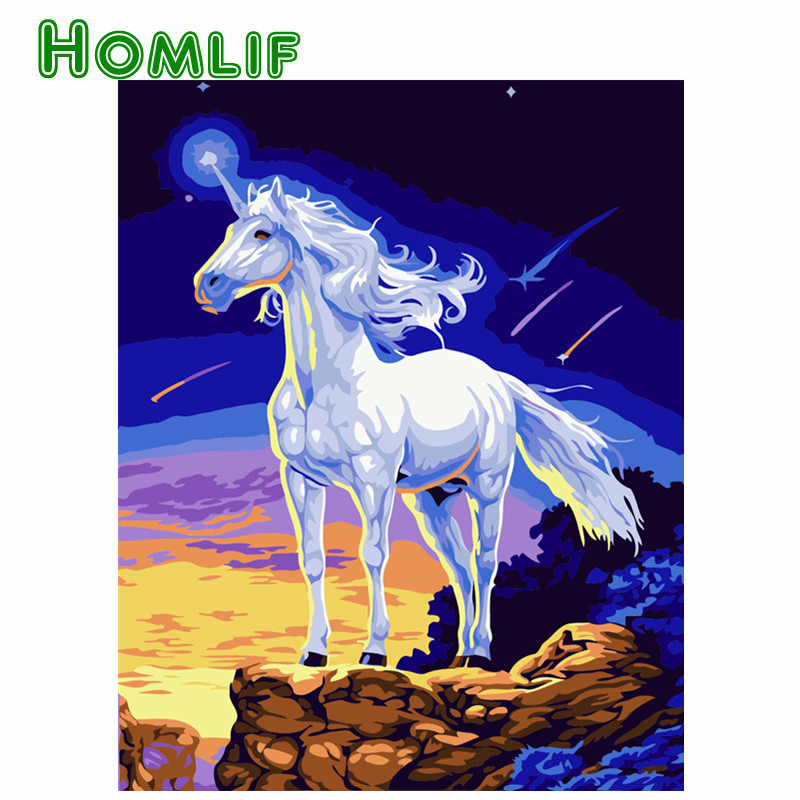 HOMLIF 5D diydiamond Embroidery horse Full,5D,Diamond Painting,Crafts,Mosaic,Resin,RhinestoneDIY,Needlework,Cross Stitch,Fashion