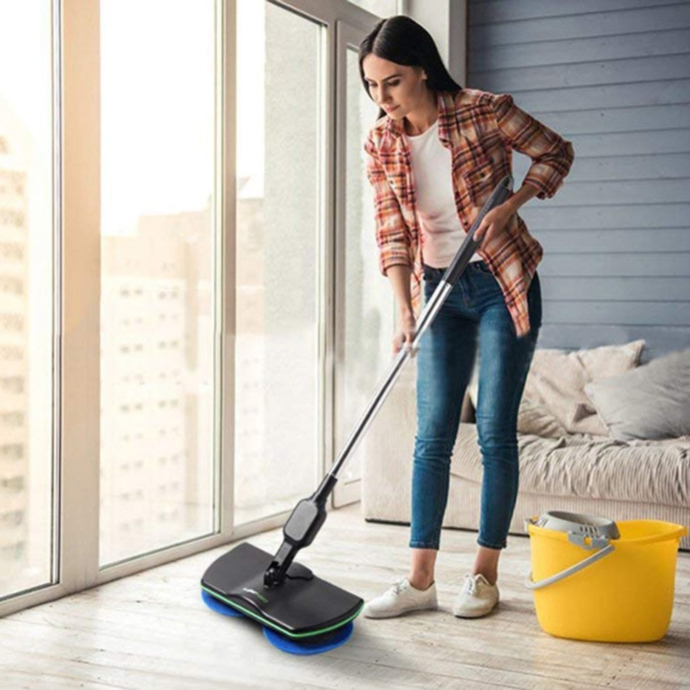 Spin Maid Electric Mop Wireless Rotating Mop Rechargeable Floor