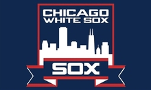 Chicago White Sox Baseball Club  flag 3ftx5ft Banner 100D Polyester  Customized Flag White Sleeve with 2 Metal Grommets Banners