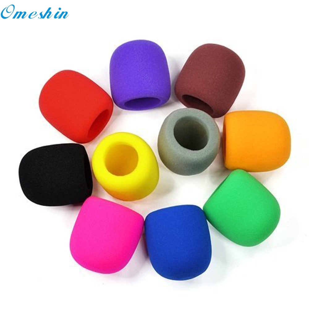 Omeshin Simplestone 10pc Colors Handheld Stage Microphone