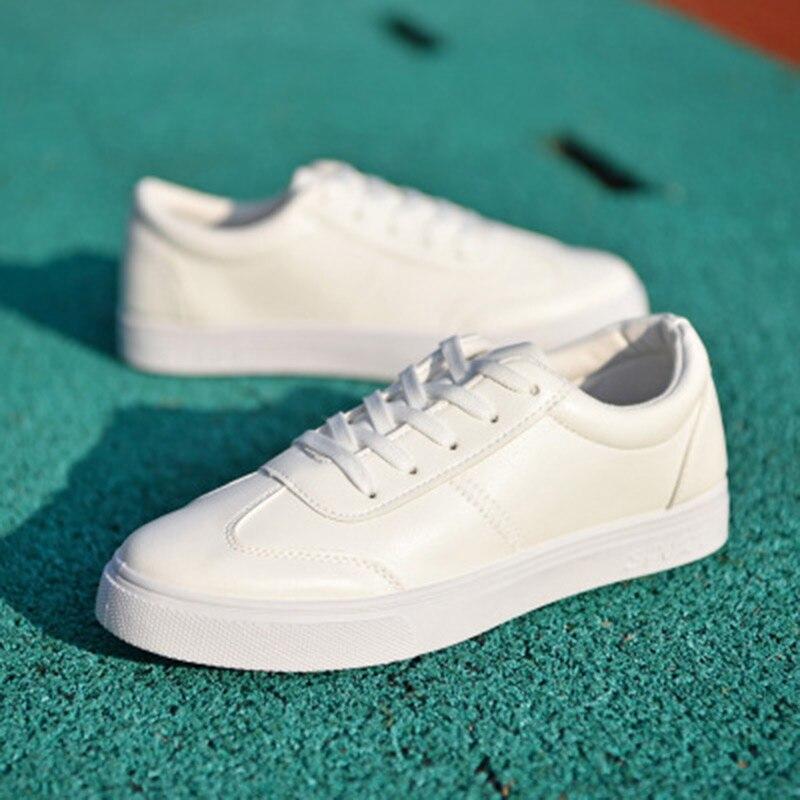 black Pour Plat Hommes De Sneaker D'été Chaussures Drop Pu Marque Luxe Respirant 2018 Nouveau En White Trous Casual Cuir Shipping ZHngRxq