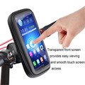 Alta Calidad Bicicleta Moto de La Motocicleta Manillar Titular A Prueba de agua Bolso de la caja de EVA Foam pad 5 para Garmin GPS Magellan teléfono
