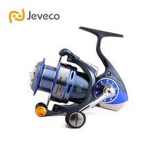 Jeveco NeverStop Спиннинг Катушка Рыбалка, 13 + 1BB Морской Рыболовный Reel, полный Металлическая Конструкция Очень Сильным и Гладкой