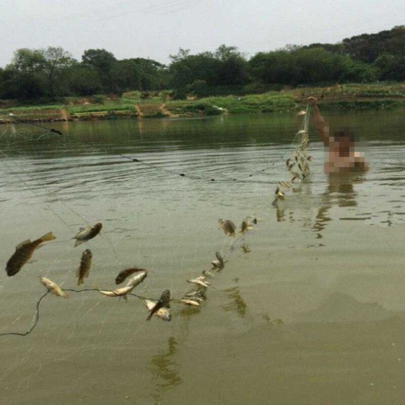 H3m * L95m 3layrers 3.5 / 5cm mesi ankkurointiverkko pesca kalalaukku - Kalastus - Valokuva 6