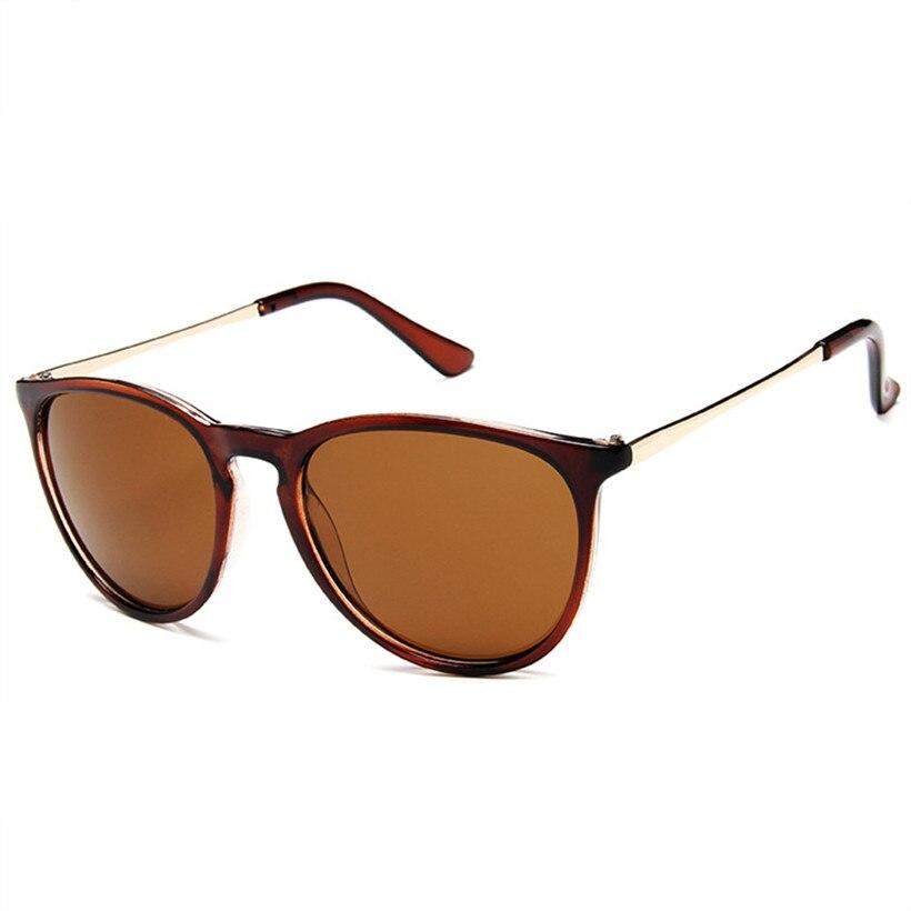 Солнечные очки Oulylan круглой формы для мужчин и женщин, винтажные брендовые дизайнерские солнцезащитные очки в металлической оправе, чёрные,...