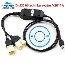 Dr. Excavadora ZX Hitachi, herramienta de diagnóstico V2011A, dr excavadora ZX Hitachi con HITACHI HOP EPC (piezas ctalog 02,2013), envío gratis