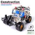 Hot educativos de Los Niños creativos juguetes de construcción, metal modelo de la asamblea modelo kit de construcción ensambladas DIY jeep