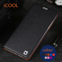 Original ICOOL Brand Phone Case Flip Leather Cover TPU Soft Case For Xiaomi Redmi Note 3