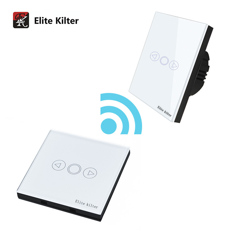 Elite Kilter EU Standard Wall Switch Glass Panel Touch Switch 3 Gang 2 Way Light Switch 86*86mm Waterproof Home Luxury Switch thomas earnshaw часы thomas earnshaw es 0014 01 коллекция beagle