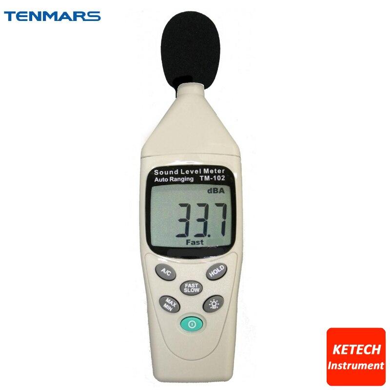 TM102 Autoranging Noise Sound Level Meter 30~130dB tm 102 autoranging sound level meter
