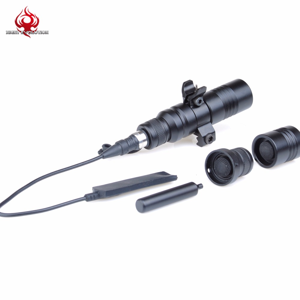 Night-Evolution Tactical Weapon Fore Sight Light For Hunting Outdoor Airsoft LED Torch Weapon Light NE04030 greenbase outdoor hunting weapon light tactical m6 led flashlight