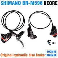 SHIMANO DEORE BR M596 oil disc brakes Mountain bike hydraulic oil brakes comparable to M615/M6000 brakes Front and rear brakes