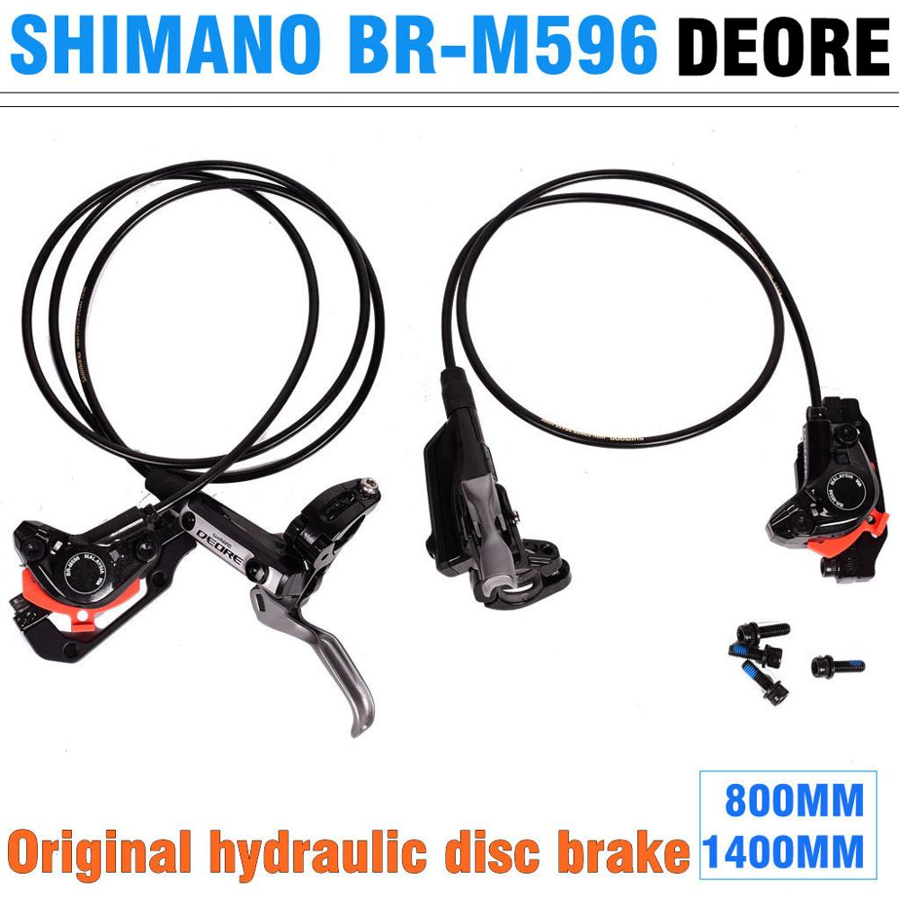 SHIMANO DEORE BR-M596 huile freins à disque VTT huile hydraulique freins comparables à M615/M6000 freins Avant et arrière freins