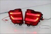 2PCS LED Rear Tail Fog Lamp For Toyota Land Cruiser 200 FJ200 LC200 Accessories 2016 2017