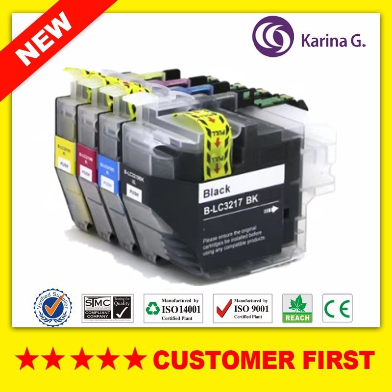 Compatible Ink Cartridge For Brother LC3217 For Brother MFC-J5330DW/MFC-J5335DW/MFC-J5730DW/MFC-J5930DW/MFC-J6530DW/MFC-J6930DW