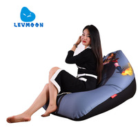 LEVMOON Beanbag Sofa Chair Beauty Master Seat Zac Comfort Bean Bag Bed Cover Without Filler Cotton
