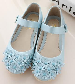 Girls white shoes spring autumn leather beautiful princess kids party flat shoes for girls children ninas elsa 398