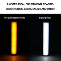 Mosquito Repellent Anti Mosquito Rechargeable LED Light 3W Outdoor Camping Tent Fly Repeller Lamp Pest Insect