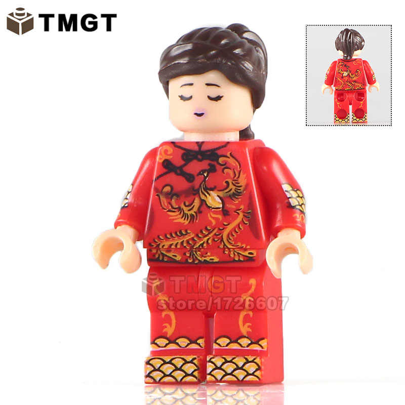 シングル販売 KL034 花嫁カスタムメイド唐スーツ中国の結婚式 · ビルディング · ブロックキッズギフトおもちゃ KL9007