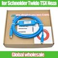 1pcs PLC programming data download cable TSXPCX3030-C for Schneider Twido TSX Neza / USB TO RS485 adapter for TSX / NEZA / TWIDO