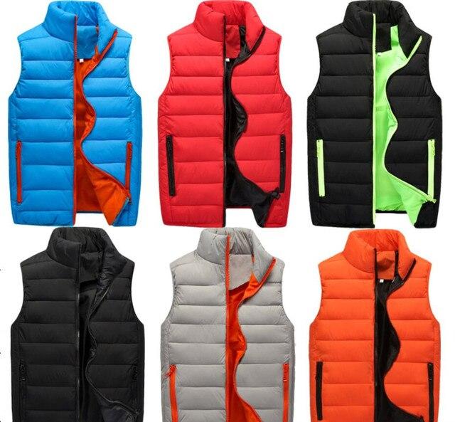 Aliexpress.com : Buy 2017 Winter Jacket Men Sleeveless Bomber ...