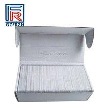 1000ピースNTAG215用tagmoスイッチnfcカード近接pvcブランク白カード/タグのためのアクセス制御支払い