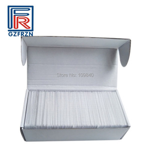 Image 1 - 1000pcs NTAG215 For Tagmo Switch NFC Card proximity PVC blank white card/tags for access control payment