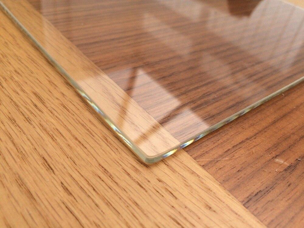 De vidrio de borosilicato construir/placa/de la cama para MK2 Wanhao Comité ANET Prusa etiqueta Monoprice Creality 3D de calor de la impresora de cama (personalizado disponible)