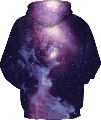 In Space With the Lord Men/women Hoodies