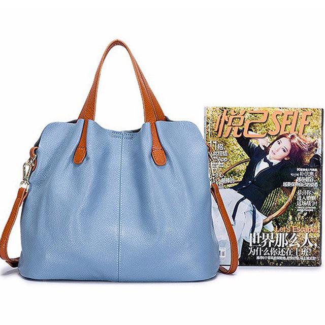 Fashion Genuine Leather Women bag women's handbag Shoulder lady's messenger bag luxury Designer crossbody bags for women ToteS
